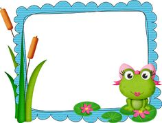 Frog Theme Classroom, Classroom Decor, Art Bulletin Boards, What To Do When Bored, Framed Wallpaper, Cute Frogs, Cute Dinosaur, Frame Clipart, Cute Animal Drawings