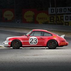 """""""I couldn't find the sports car of my dreams, so I built it myself. This is a collection for one of the famous cars ever build - the Porsche Porsche 964, Porsche Carrera, Porsche Club, Le Mans, Classic Race Cars, Martini Racing, Vintage Porsche, Gt Cars, Vintage Race Car"""