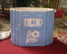 Antique Vintage 1940s Cameoware Harker Pottery by NeldaMaesCloset, $9.50