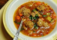 Recipes from Around the World: Albondigas Soup (Mexican Meatball Soup)
