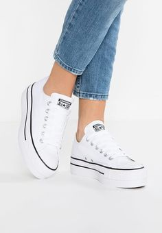 the best attitude fba26 079bc Chaussures Converse CHUCK TAYLOR ALL STAR PLATFORM - Baskets basses - optic  white blanc 80