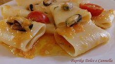 Paccheri Zucca e Cozze, un primo piatto diverso, succulento e dal sapore di mare! Zucca e Cozze, un abbinamento eccezionale!!!