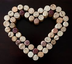 We love shares... Remember the cute cork heart that I showed you a couple of weeks ago? I finally broke out my stash of corks and my brand new heavy-duty glue gun and created one of my own! I love corks (I dream about having cork flooring some day – so pretty and cushy and green!), and there's seriously something therepeutic about gluing lots and lots of small objects together to create something bigger and better. I picked up all of my  {Read More}