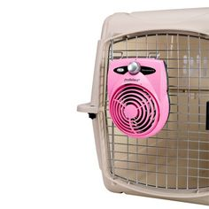 Must have if you need to leave dog in car on hot day !! For only a short period of time of course !!!Dog Crate Fans & Accessories