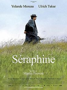 Séraphine is a 2008 French-Belgian film directed by Martin Provost and written by Marc Abdelnour and Provost.