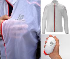 Superlight Windbreaker Folds Up To Fit In Your Pocket
