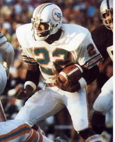 "Eugene Edward ""Mercury"" Morris played in three Super Bowls and was selected to three Pro Bowls."