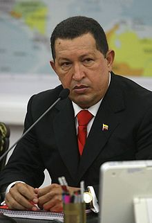 Hugo Chavez 1954 - 2013 - He re-founded his country, freed it from colonial domination, thrust the invisible poor permanently into the national spotlight, redistributed oil revenues to benefit the Venezuelan majority, sharply reduced illiteracy and poverty, radically improved public health, raised pensions and the minimum wage, mandated pay for housework, established health clinics, schools, cooperatives and popular councils throughout the country,