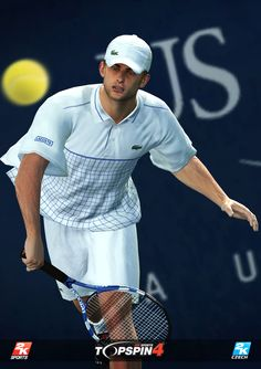 Andy Roddick in Top Spin 4.