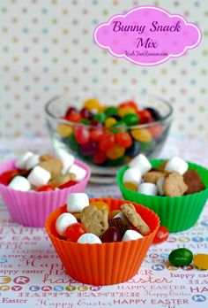Easter Bunny Snack Mix Recipe