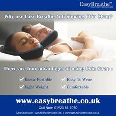 "Why use Easy Breathe Anti Snoring Chin Strap? ""#Easybreathe #nasal #strips"""