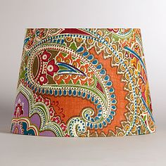 Venetian Paisley Table Lamp Shade | Lighting| Home Decor | World Market