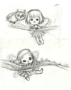 Awesome Sketch from Kei Acedera ♥