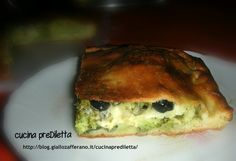schiacciata con broccoli e tuma,ricetta,cucina preDiletta