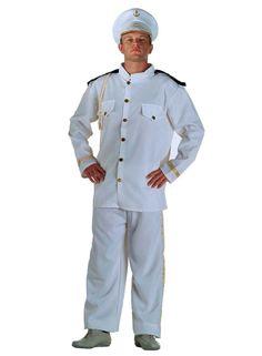 Kapitänskostüm Captainkostüm Seemanskostüm