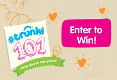 Tell us how you use your Trunki to win prizes!