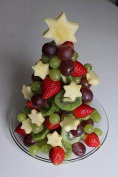 Sehe dir das Foto von Pusteblume mit dem Titel Gesunde und kreative Idee für ein Weihnachtsbuffet und andere inspirierende Bilder auf Spaaz.de an.