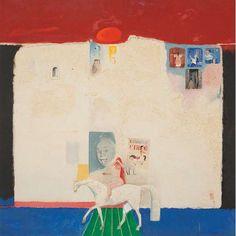 """FLORIANO TEIXEIRA - """"Lady Godiva"""" - óleo sobre tela - 76 x 76 cm - a.c.i.d. 1973"""