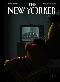 """The latest New Yorker cover is yet another example of why magazines will never disappear. That illustration is almost too good."""