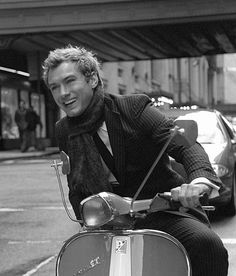 "Jude Law ride in ""Alfie""...he will never know that he is my dream man!!! lol"