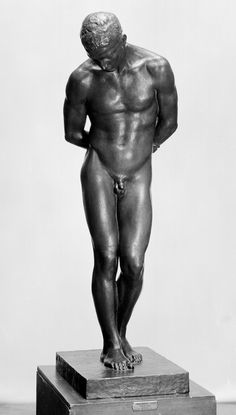Ingebrigt Vik (1867 -1927) Ynglingen 1913 The Youth (ENG) Bronse 163 cm Kjøpt for Benneches legat 1914 Inventarnr.: NG.S.00988 Nasjonalmuseet for kunst, arkitektur og design