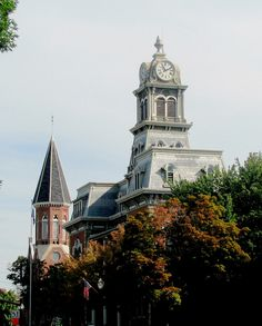 My home town! Old Courthouse Tower... On the square - Medina, OH -  Christine B. © 2012