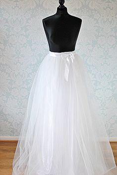 Bridal Tulle Skirt Detachable Tulle Skirt,Tulle Wedding Skirt,Tulle Overskirt,Bridal Train,Full Length Tutu Skirt,Sewn Tutu Skirt,Detachable Tulle Train,Adult Tulle Skirt,Adult Tutu Skirt,Bridal Tutu Skirt,Wedding Tutu Skirt,Long Tutu  Skirt