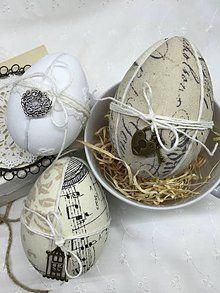 Dekorácie - Sada veľkonočných vajíčok - 6324914_