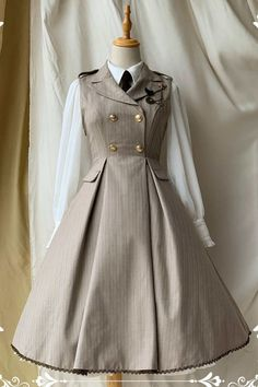 Old Fashion Dresses, Teen Fashion Outfits, Mode Outfits, Cute Casual Outfits, Pretty Outfits, Pretty Dresses, Kawaii Fashion, Lolita Fashion, Mode Lolita