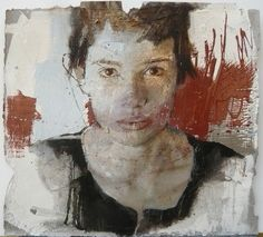 Massimo Lagrotteria - No title - cm 50x50 oil on paper