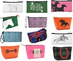12 Equestrian Cosmetic Bags from Horses & Heels | EquiSearch