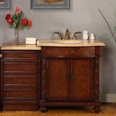 "Found it at Wayfair - Victoria 52"" Single Sink Bathroom Vanity Set"