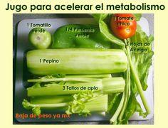 Baja de peso Ya MX: Jugo para optimizar el metabolismo