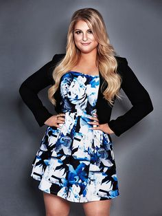 """Meghan Trainor: How I Dress for My Curves   10/23/2015 at 09:00 AM ET  Meghan Trainor hasn't always been about her bass. """"Confidence was always something I w..."""