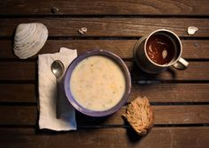 Fictitious Dishes: Moby-Dick by Herman Melville, 1851'Our appetites being sharpened by the frosty voyage, and in particular, Queequeg seeing his favorite fishing food before him, and the chowder being surpassingly excellent, we despatched it with great expedition…'