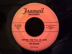 Ballads - Before You Fall In Love - Rare New Haven CT Ballad