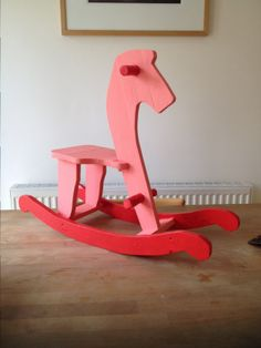 Pallet Rocking Horse #PalletHorse, #RockingHorse