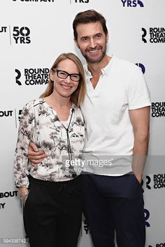 News Photo : Actors Amy Ryan and Richard Armitage attend...