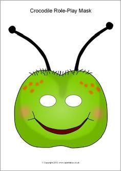Caterpillar role-play masks (SB9644) - SparkleBox