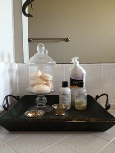Bathroom Counter Decor bathroom counter decor | home | pinterest | bathroom counter decor