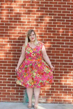 Mood Fabrics - Floral Voile Summer Dress - Idle Fancy