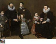 Portrait of a Family - Cornelis de Vos - 1631