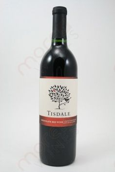 Tisdale Chocolate Red Wine 750ml -great cheap sweet red