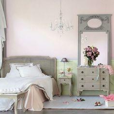 Casinha colorida: TOP 10: quartos em estilo cottage                                                                                                                                                                                 Mais