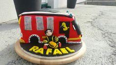 Feuerwehr Auto torte Cake, Desserts, Food, Fire Department, Tailgate Desserts, Deserts, Kuchen, Essen, Postres