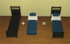 The Sims 4 | Veranka's Ikea Hemnes Bedroom 2t4 conversion & Mattresses for Bed Frames | buy mode new mesh bedroom