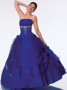 Gasa print-large floral-ivory//indigo Azul-Vestido fabric-free de envío
