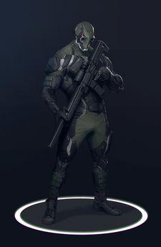 ArtStation - Military tactical under armour design, Jianli Wu