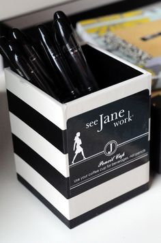 See Jane Work | Office Style and Organization Ideas