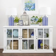 """Team our timeless blue, white & natural furniture, homewares and accents with your own treasured pieces to give your home a """"collected"""" look that has evolved over the years, to evoke a feeling of belonging, family and home."""